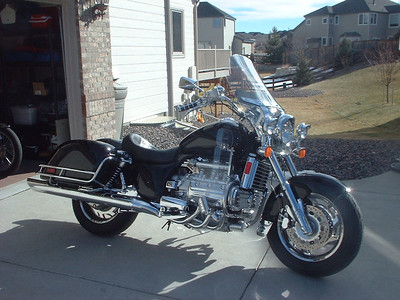 '98 Valkyrie with full accessories just prior to sale
