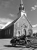 Église de St-Charles-sur-Richelieu  et Road-King 2000<br /> St-Ours, Québec<br /> 1 Mai 2015<br /> IMG_4143.jpg