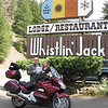 Whistlin' Jack is on one our favorite motorcycle roads, WA-410. Lying about 30 miles east of the Chinook Pass Summit, this restaurant serves good food in a great setting, (a table on the brick paver patio, overlooking the Naches River, is tough to score on a nice day), but things are a bit pricey for what you get.
