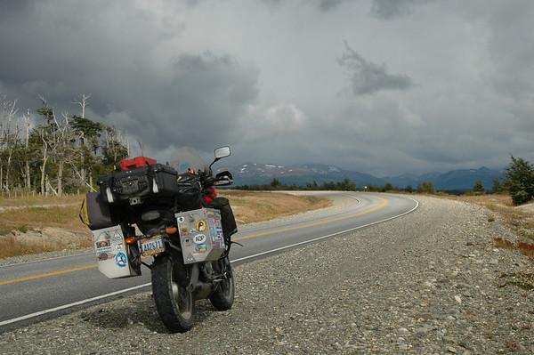 South America, Heading North From Tierra del Fuego
