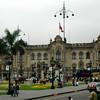 Palacio de Gobierno, casa provicional de los Presidentes del Peru.  Hoy es de Alan Garcia Perez.