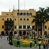 Municipalidad de Lima.  Lugar donde ejerce la alcaldia 2010 Luis Castaneda Lossio, Alcalde de Lima.