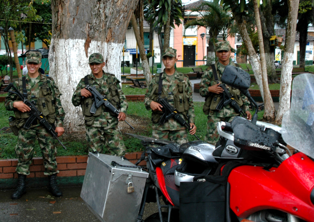 Darien, Colombia, Colombian Army