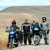 Tom, Ron and Steve.  We met Tom & Steve on the road in Patagonia, they are touring on their KLR's