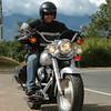 Jorge Cansinos en camino por el Km18