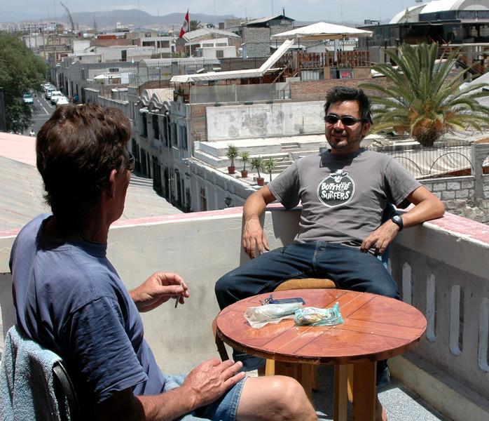 Randy and Angel, Arequipa