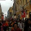 Jiron de La Union,  lugar de mucho comercio y principal de Lima.