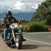 Andres Hansen sobre su Harley Davidson