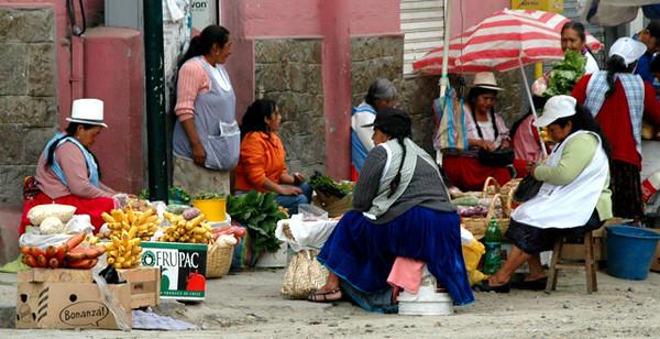 Cuenca street vendors