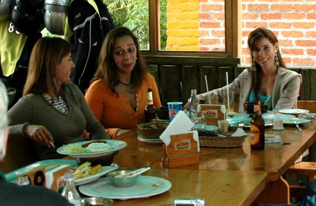 Las 3 Gracias Gabriela Arqueros,Paula Vega Y Maria Andrea Kure