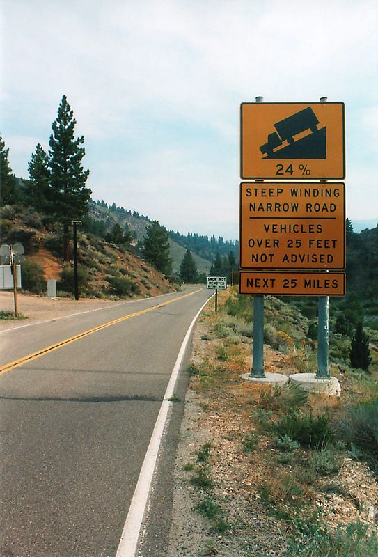Rt. 4 northern CA.  Very fun road...