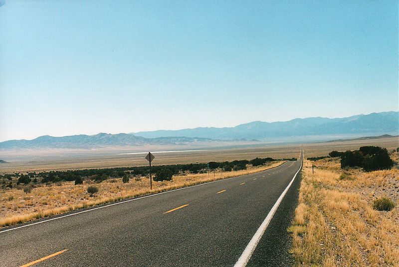 Loneliest Road in America, Rt. 50 Nevada