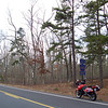 Monday, March 24. Made it down to south Jersey, the plan being to explore the scenic routes marked all over my map there. The weather was still pretty wintry, blustery and with no sign of spring