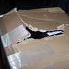 To begin with, UPS tried, but not hard enough apparently, to destroy the gear I'd mailed to myself in Connecticut.