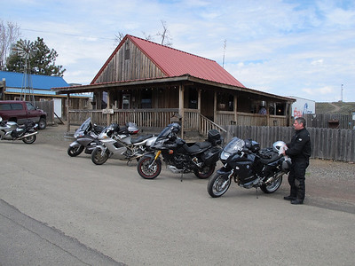 Lunch stop, Bickleton, WA