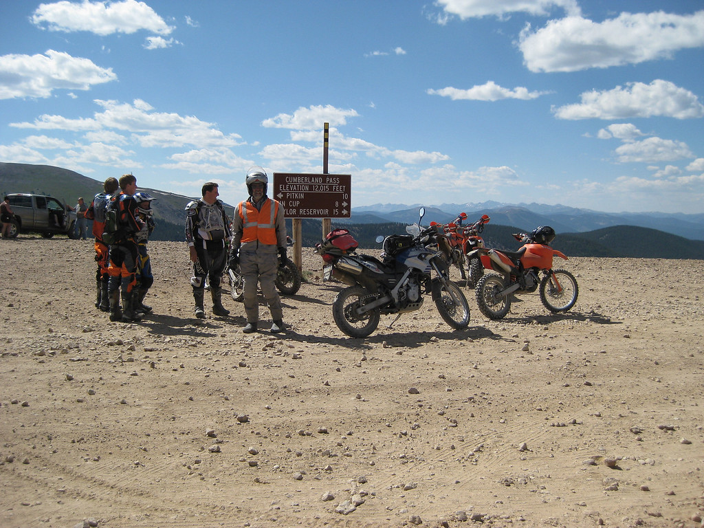 Karst at the top of Cumberland pass