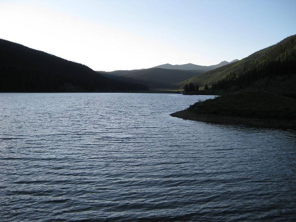 Spring Creek reservoir.