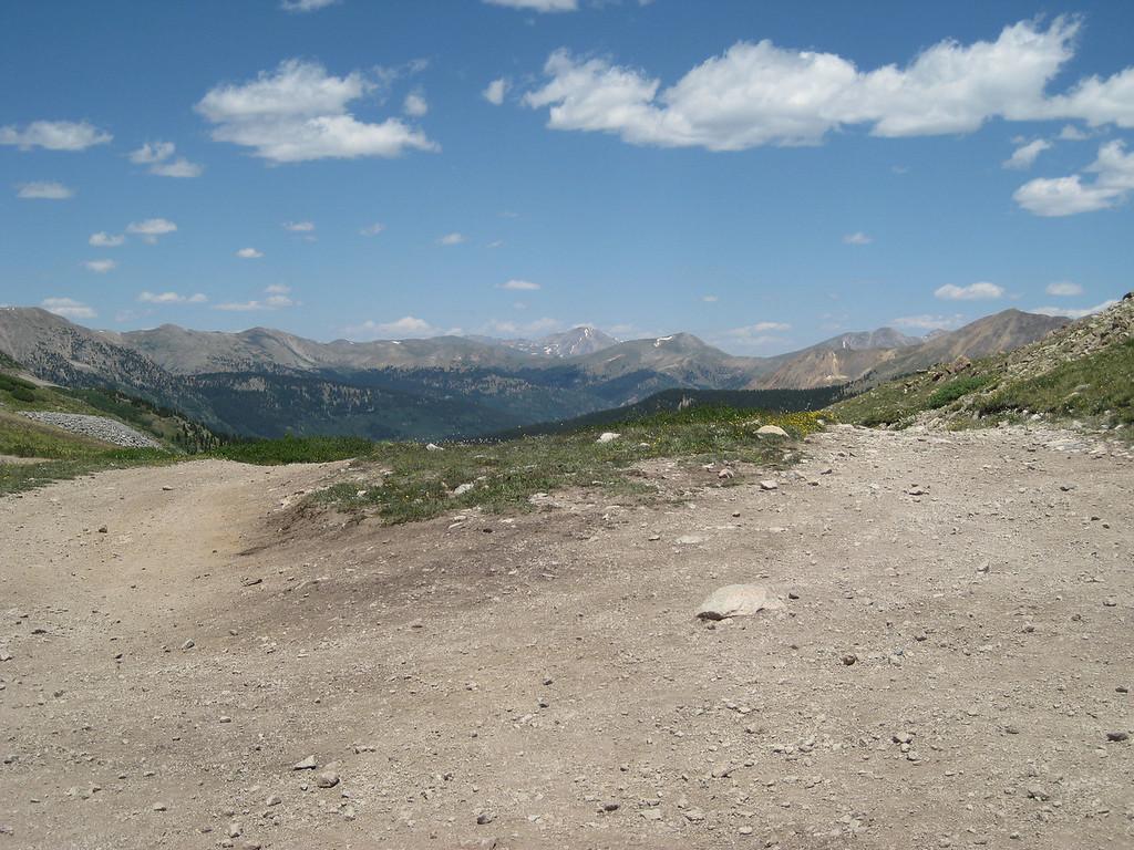 Top of Tincup pass