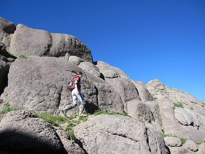 St. Sophia Ridge Bike/Climb/Summit, CO - 8/8/2011