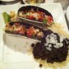 Lobstah & shrimp tacos.....ummmmmm.