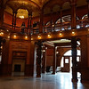 The lobby of the Flagler College.   Used to be a hotel.