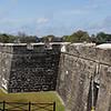 Castillo De San Marcos guards the city.