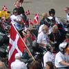 Danish team registering at the FIM Rally, Tartu, Estonia 2005