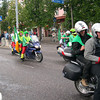 Irish team group photo before Parade of Nations, FIM Rally, Tartu, Estonia, 2005