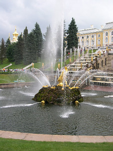 Fountains, Peterhof Palace, St Petersburg