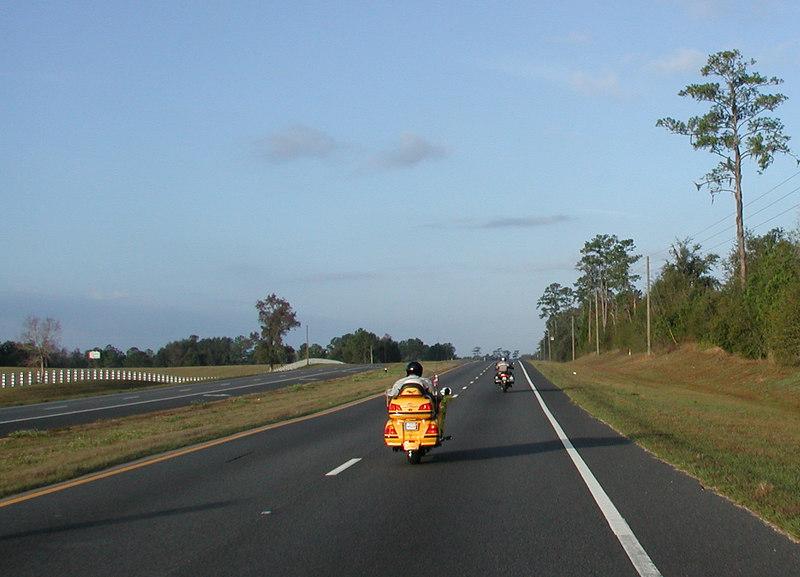 Randy leads the way across Florida
