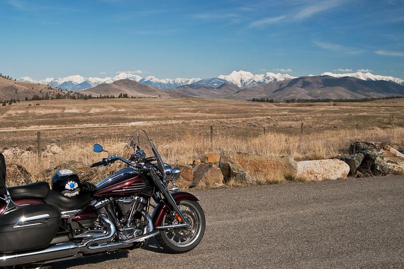 A springtime ride along Hwy 200 in Montana