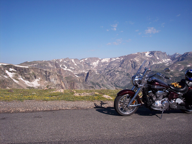 Along the Beartooth Highway.
