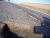 "Huge pothole! (Feb2008) posted by 'Davey' on  <a href=""http://www.r1200gs.me.uk/forum"">http://www.r1200gs.me.uk/forum</a> - A1185 (Seal Sands road) in Cleveland. Lots of heavy traffic using road to get to chemical companies at Seal Sands. There are also a couple of landfill tips, suspect these guys are overloaded..........<br /> Council are sending out a claim form!"