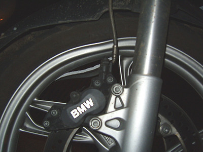 R1200GS damaged front wheel....another shot