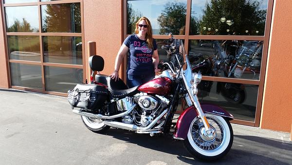 Steph's Harley
