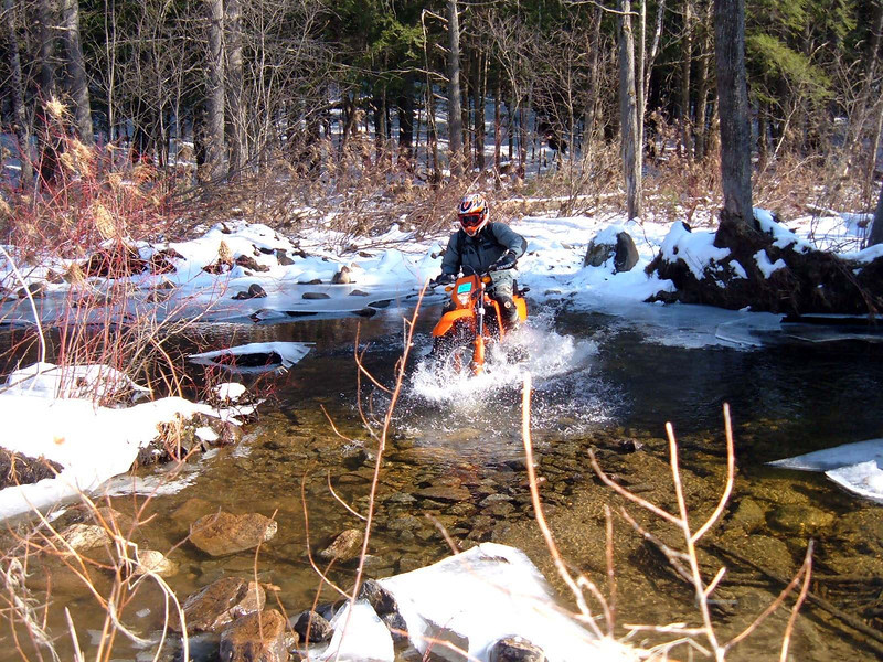 A little winter riding in Hop-Ev