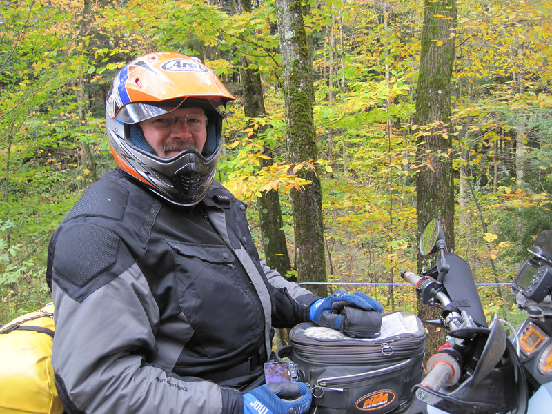 Bob on the Silver Bullet Oct 2011