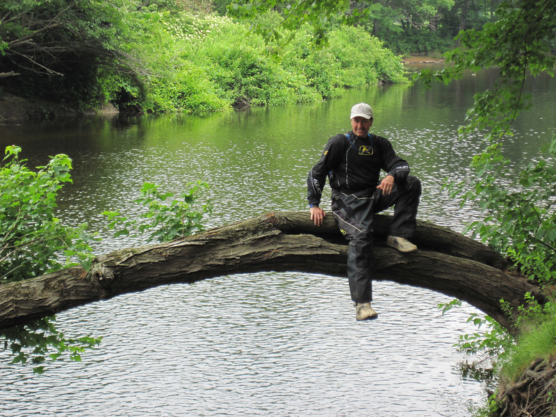 Joe on the Blackwater River