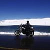 Professional tourguide Angela de Haan on the road to La Paz Boilvia Aug 2015