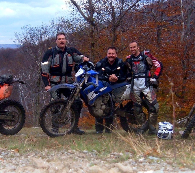 Me, Tony and Paul somewhere in western Mass