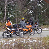Best bike-camping trip ever.  Conrad, Jeff & Me somewhere in NH