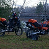 950s in camping mode.  Maine 2014