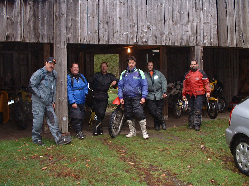 The Crew at Jon Suttons place in Vt