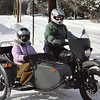 Mark and Sue ride snow 2014