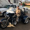 Dad takes the Trike out for a spin 2017.