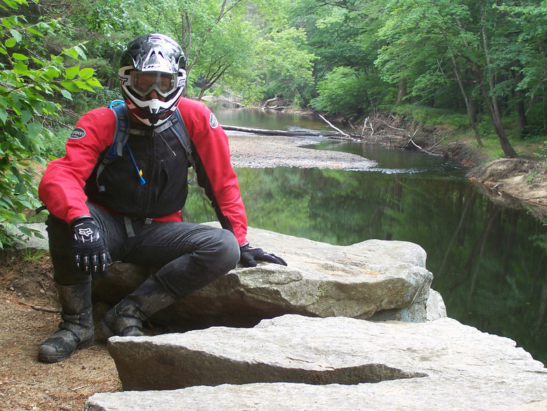 Bill Vick on the Blackwater River in NH