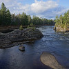 Along the Penobscot  river