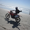 Petr rides the Pacific side of Baja.