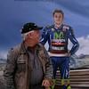 Rossi sneaks up on his buddy Dan