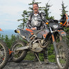 Top of some rockpile in Maine the Sat after Wattsys school....once I found some new brake pads....